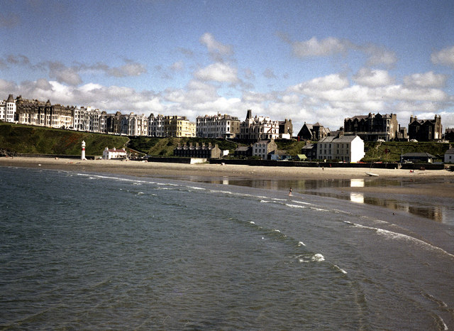 Port Erin beach and sea-front