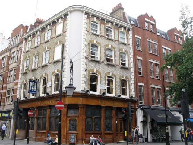 The Champion, Wells Street / Eastcastle Street, W1