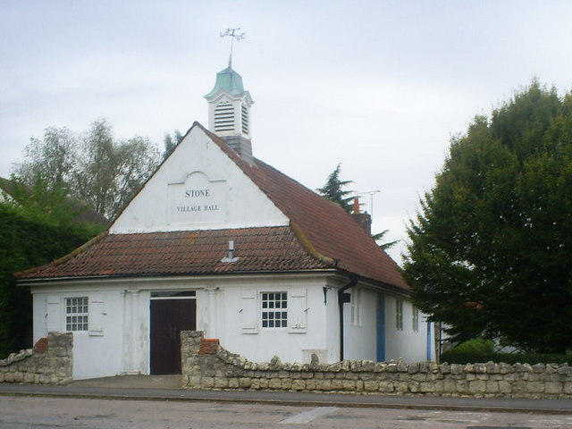 Village Hall , Stone