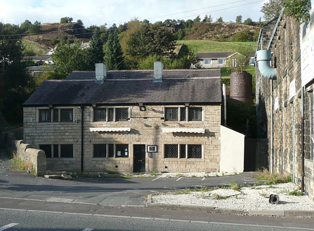 The former Rose and Crown, Halifax Road, Todmorden