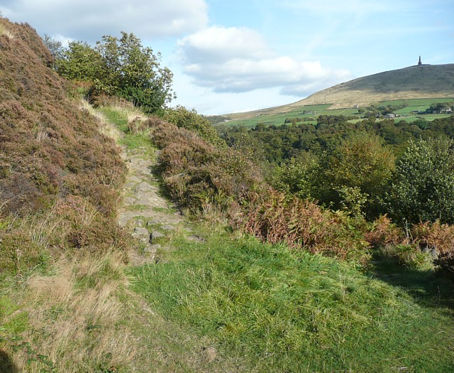 Hairpin bend near Rodwell End, Stansfield
