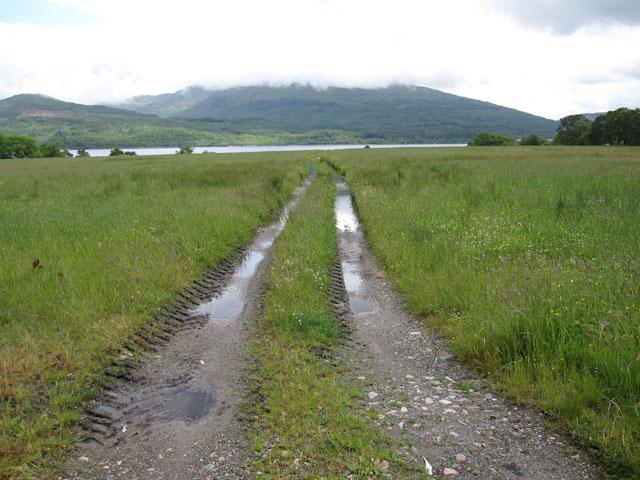 Track towards Loch Creran