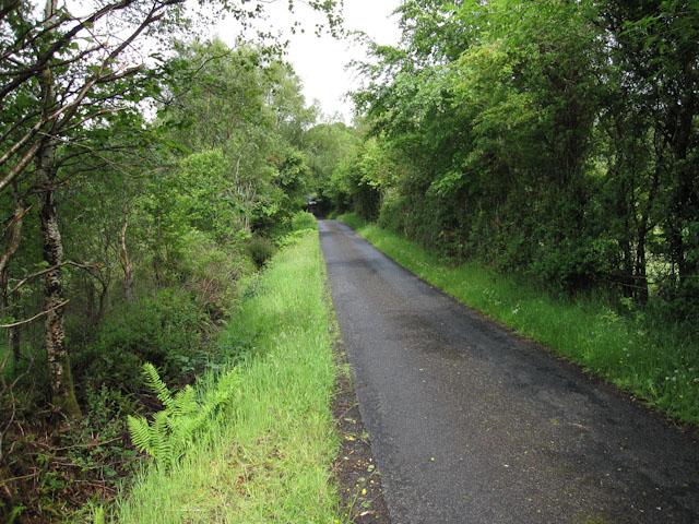 Road to Ardnaclach