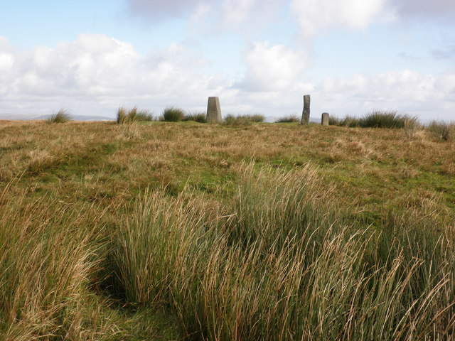 The summit of Ryder's Hill