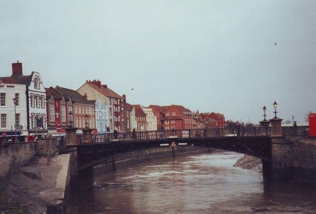 Bridge over the River Parrett, Bridgwater
