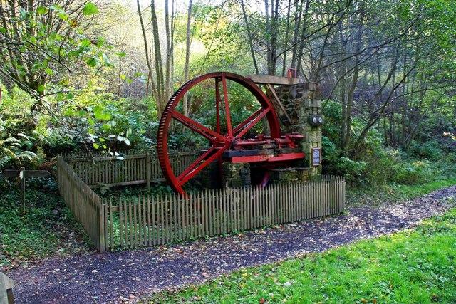 Water Wheel, Cragside