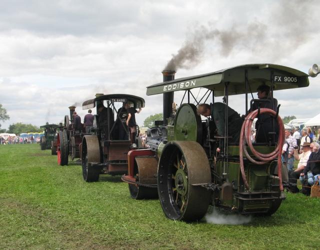 Great Bucks Steam Rally, Shabbington, 2009