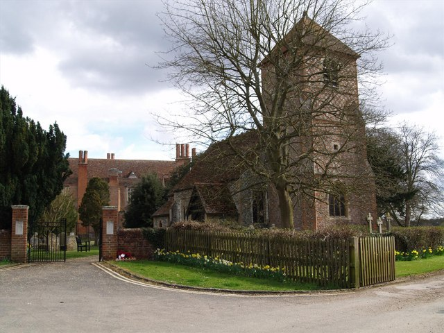 The Church at Mapledurham House