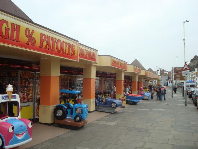 Amusement arcade, Hastings