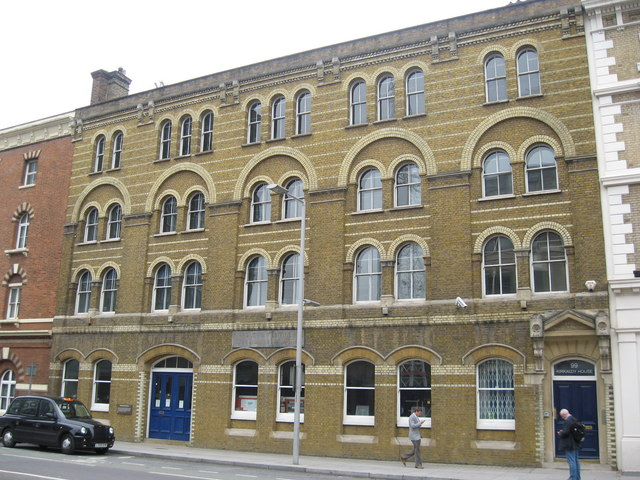 Kirkaldy's Testing and Experimenting Works, 99 Southwark Street, London.
