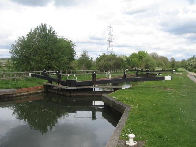 Sheffield Bottom Lock, Kennet and Avon Canal