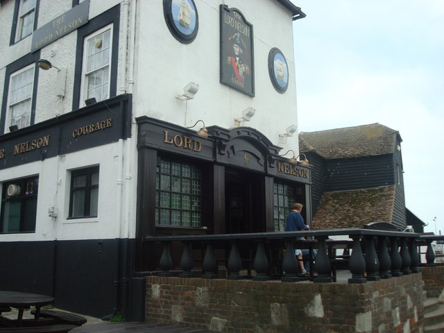 Lord Nelson public house, Hastings