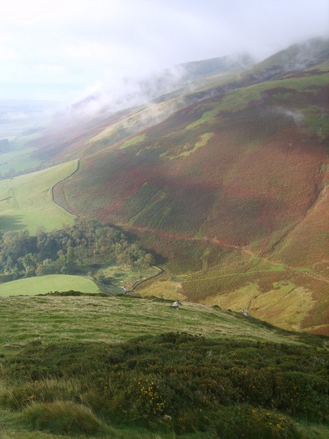 Looking over Whitecombe Beck