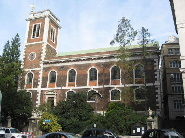 St. Andrew-by-the-Wardrobe Church, London