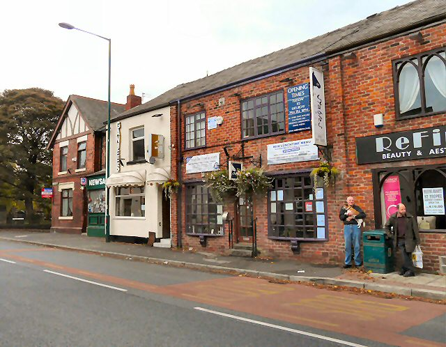 Shops on Stockport Road, Gee Cross