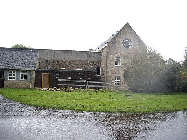 Rear annexe to Pluscarden Abbey