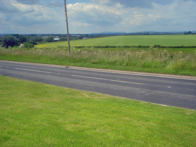Farmland north of Ross