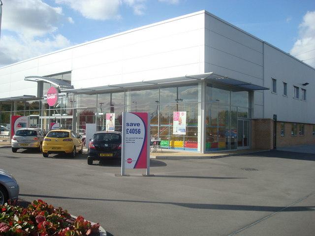 Car dealer, Sheffield Business Park, Sheffield