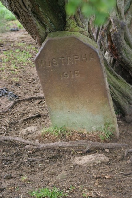 Gravestone in Duncombe Park