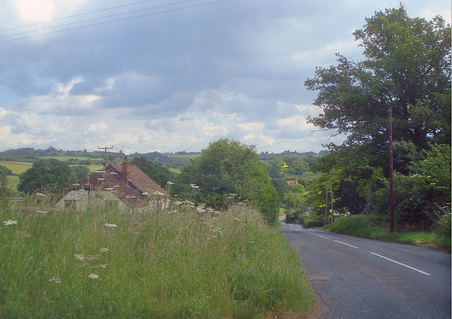 Road into Phocle Green