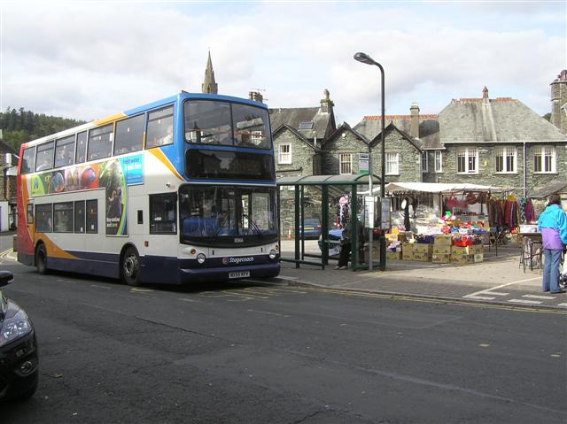 Bus stop, Kelsick Street