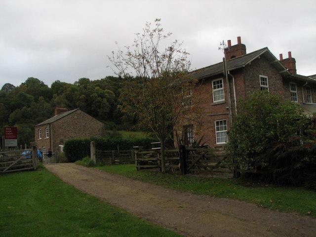 Houses at Farwath Railway Crossing