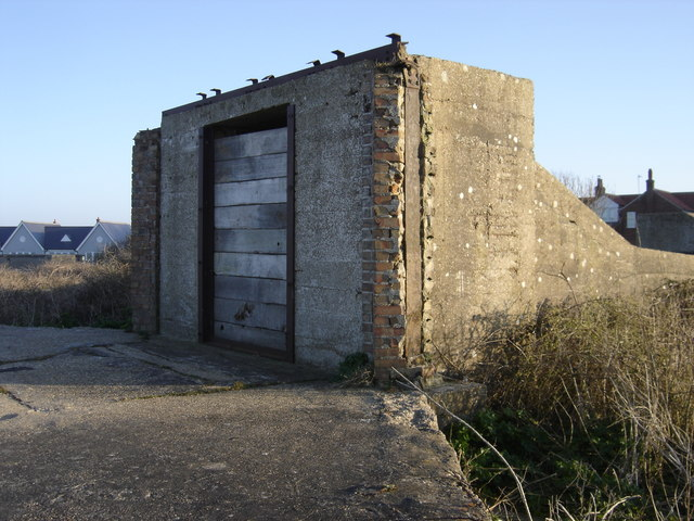 Mundesley WW2 coastal gun battery