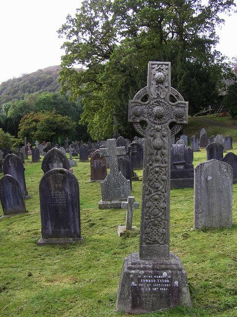Cross, St Mary's Community Church graveyard