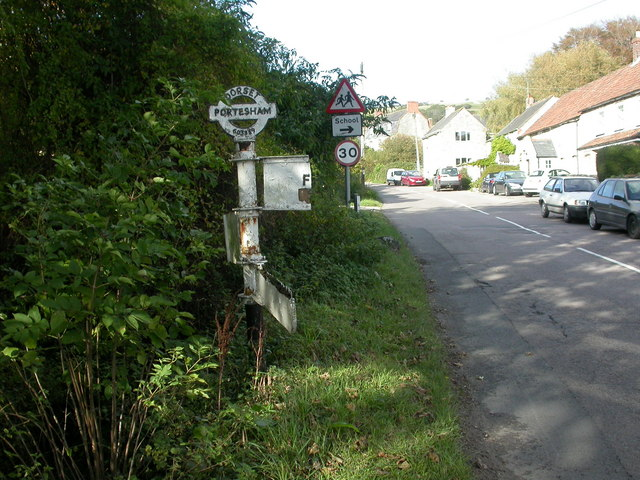 Portesham, fingerpost