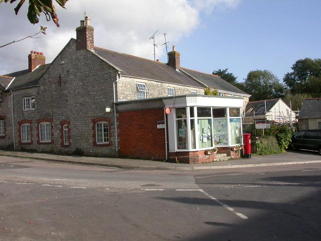 Portesham, post office