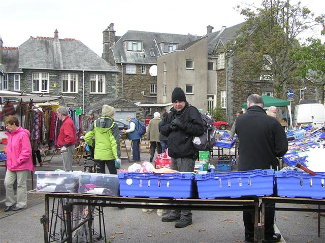 Open-air Market, Ambleside