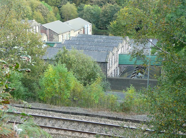 'Works' next to Halifax Road, Stansfield