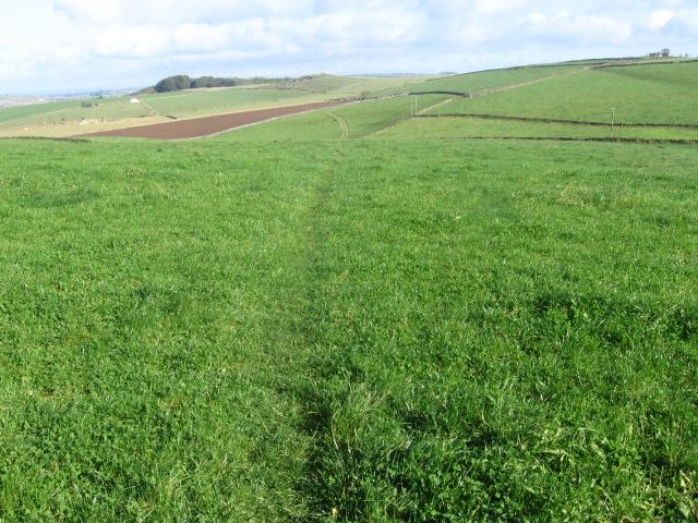 The Limestone Way towards Grangemill
