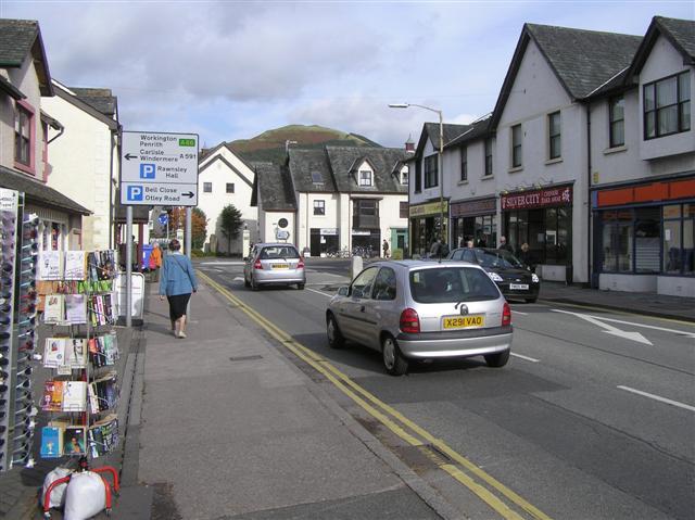 Tithebarn Street, Keswick