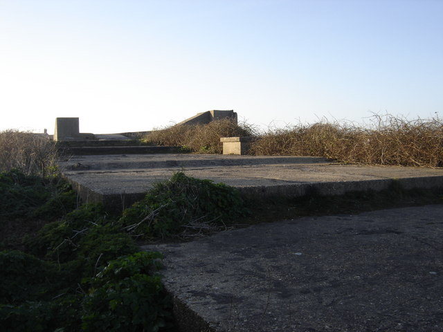 Mundesley WW2 coastal gun battery