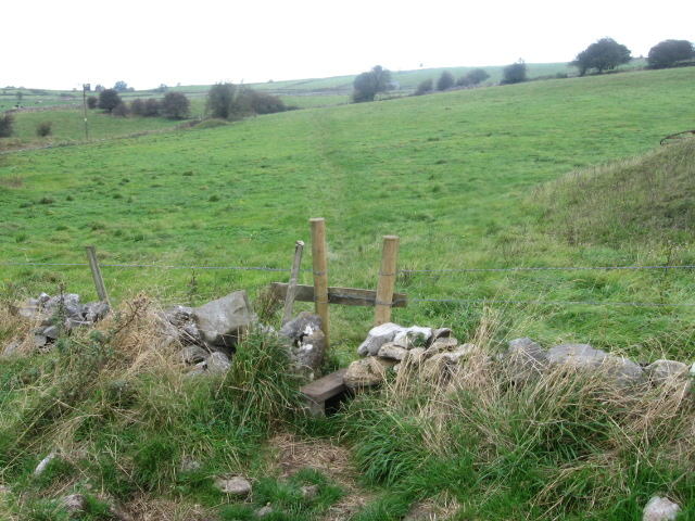 Footpath near Winstermoor Farm