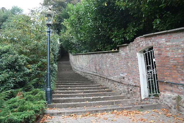The 99 Steps, Great Malvern
