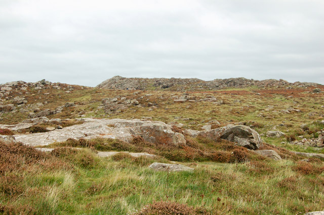 Site of Iron Age fort near St Davids Head