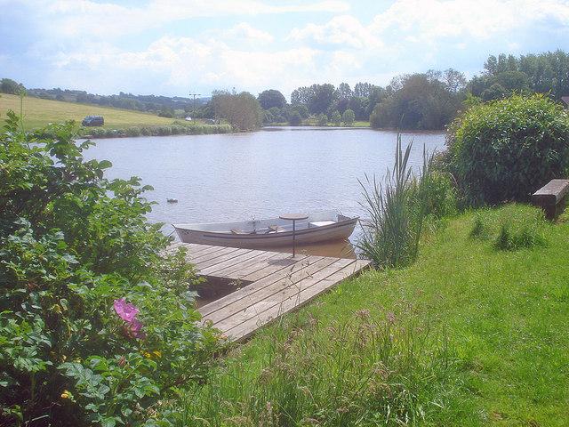 Boat on Harleton Water