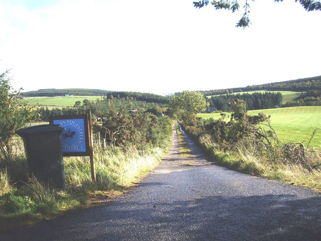 Access to Todholes Equestrian Centre