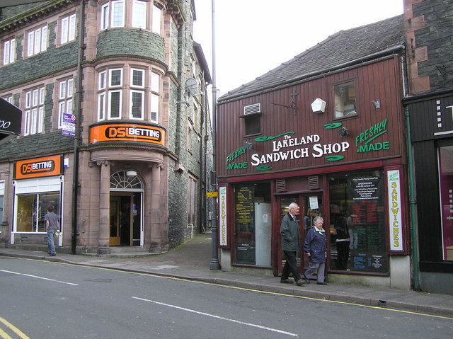 D S Betting / The Lakeland Sandwich Shop, Keswick