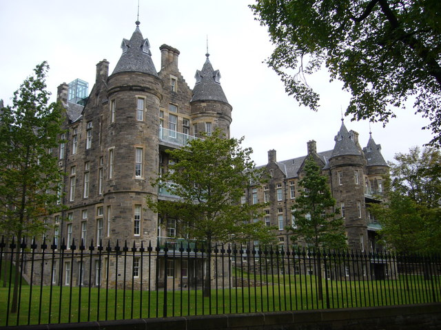 Old Royal Infirmary from the Meadows