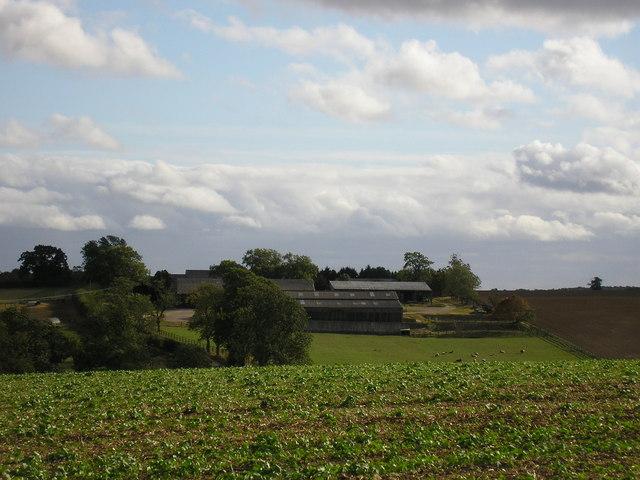 Bidwell Farm from Stretton Road, Clipsham