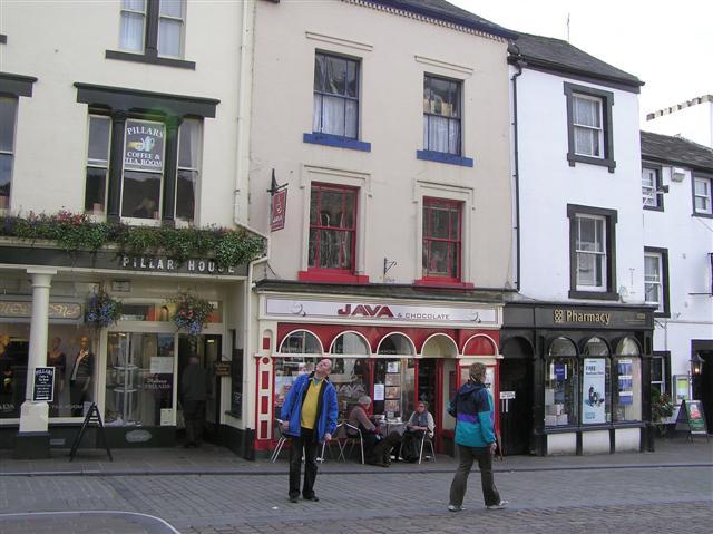 Pillar House / Java / Pharmacy, Keswick