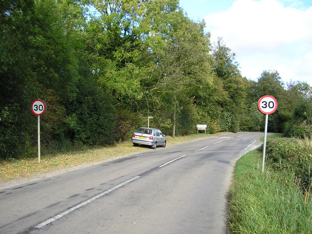 Entering Clipsham on Stretton Road