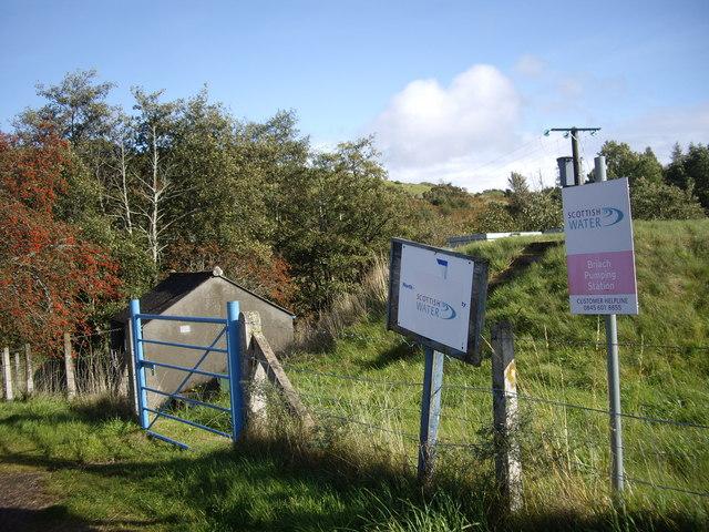 Briach Pumping Station