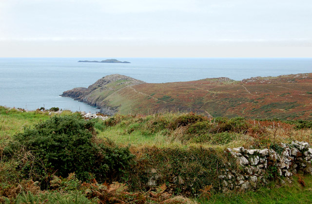 St davids Head from the northeast