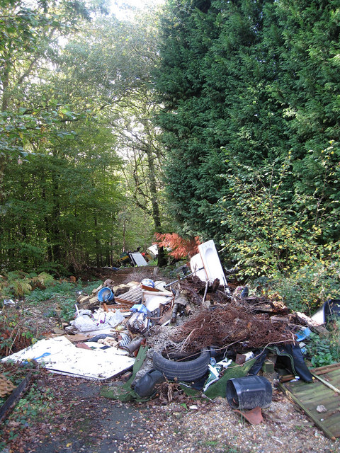 Fly Tipping, Yewtree Wood