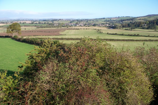 Thropton, from Tosson Lime Kiln