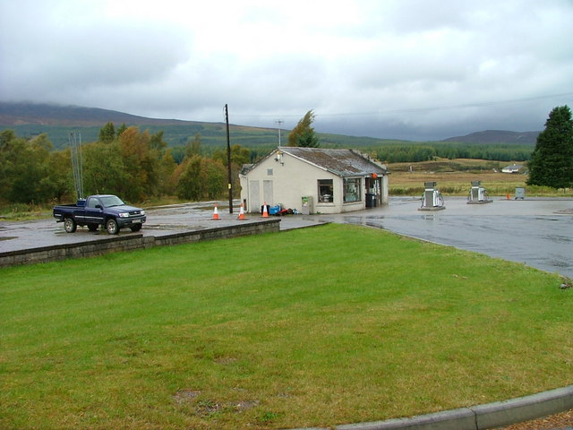 Dalwhinnie Filling station and shop